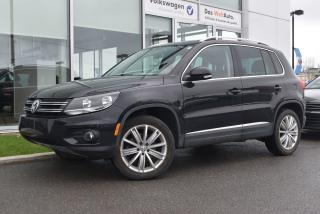 Used 2016 Volkswagen Tiguan Highline for sale in St-Jérôme, QC