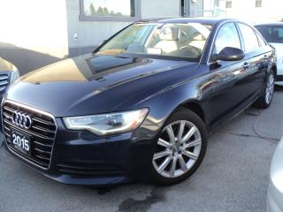 Used 2015 Audi A6 2.0T Progressiv NAVIGATION SUN ROOF for sale in Oakville, ON