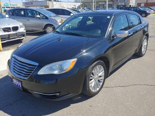 Used 2011 Chrysler 200 2011 Chrysler 200 - 4dr Sdn Limited for sale in Hamilton, ON