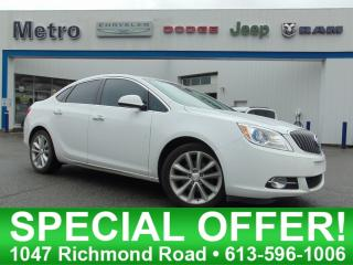 Used 2015 Buick Verano Fully Loaded for sale in Ottawa, ON