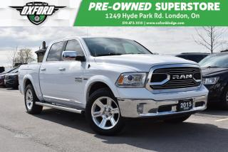 Used 2015 RAM 1500 Longhorn - GPS, UConnect/Bluetooth, Ventilated Sea for sale in London, ON