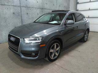Used 2015 Audi Q3 Awd Toit Pano for sale in Lévis, QC
