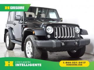 Used 2016 Jeep Wrangler SAHARA 2 TOITS for sale in St-Léonard, QC