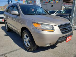 Used 2008 Hyundai Santa Fe GL 5-Pass-SUNROOF-LEATHER-FULLY LOADED-ALLOYS for sale in Scarborough, ON