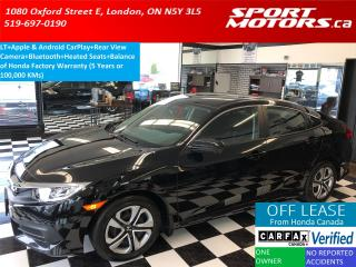 Used 2017 Honda Civic LX+Apple & Android Play+Camera+Heated Seats+A/C for sale in London, ON