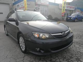 Used 2010 Subaru Impreza Accident Free_AWD_Sunroof_Low Mileage_Roof Racks for sale in Oakville, ON