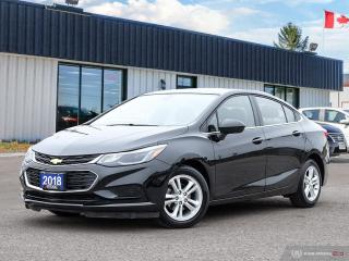 Used 2018 Chevrolet Cruze LT,REARVIEW CAM,B.TOOTH,HEATED SEATS, for sale in Barrie, ON