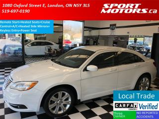 Used 2013 Chrysler 200 Touring+Heated Seats+Remote Start+New Brakes for sale in London, ON