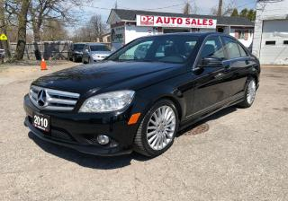 Used 2010 Mercedes-Benz C-Class C250 4 Matic/Comes Certified/Leather Roof/Loaded for sale in Scarborough, ON