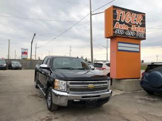 Used 2013 Chevrolet Silverado 1500 LS Cheyenne Edition**LEATHER**CREW CAB**CERTIFIED for sale in London, ON