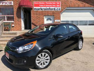Used 2014 Kia Rio EX Back Up Cam Bluetooth Heated Cloth A/C Pwr Grp for sale in Bowmanville, ON