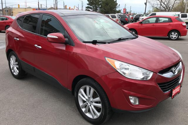 2013 Hyundai Tucson LTD ** AWD, NAV, HTD LEATH **