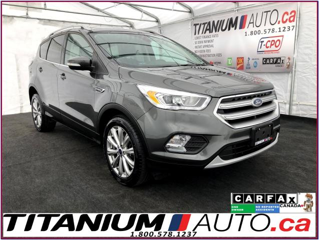 2017 Ford Escape Titanium+4WD+Pano Roof+Camera+Leather+Blind Spot++