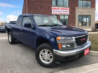 Used 2010 GMC Canyon SLE-2 4X4 for sale in Rexdale, ON