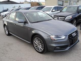 Used 2016 Audi A4 Komfort plus  S-LINE for sale in Oakville, ON