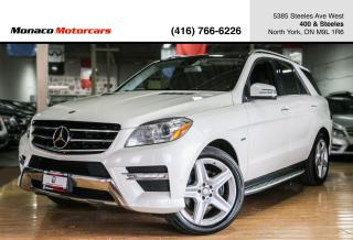 Used 2012 Mercedes-Benz M-Class ML350 - AMG|B.SPOT|L.KEEP|PANO|NAVI|BACKUP|H&K for sale in North York, ON