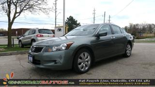 Used 2010 Honda Accord EX-L|NO ACCIDENT|LEATHER SEATS|SUNROOF|ALLOY|CERTI for sale in Oakville, ON
