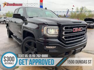 Used 2016 GMC Sierra 1500 1 OWNER | 4X4 | CAM | A/M LEATHER for sale in London, ON