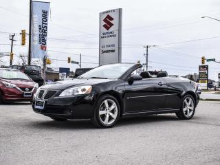 Used 2006 Pontiac G6 GT Convertible ~2-Tone Leather ~ONLY 94,000 KM! for sale in Barrie, ON