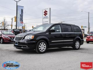 Used 2015 Chrysler Town & Country Touring ~Full Stow 'N Go ~Power Doors ~ Backup Cam for sale in Barrie, ON