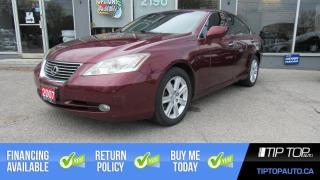 Used 2007 Lexus ES 350 Base ** New Tires, A/C&Heated Seats, Leather ** for sale in Bowmanville, ON