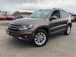 Used 2015 Volkswagen Tiguan Comfortline 4Motion Leather Sunroof Htd Seats for sale in St Catharines, ON