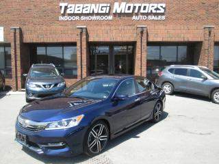 Used 2017 Honda Accord SPORT | HONDA SENSING | LEATHER TRIM | SUNROOF | REAR CAM | for sale in Mississauga, ON