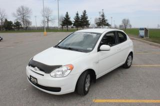 Used 2010 Hyundai Accent 3DR HB for sale in Oshawa, ON