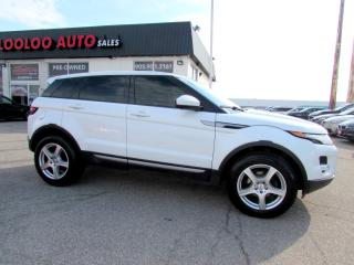 Used 2014 Land Rover Evoque Pure Premium Navigation Camera Certified 2Yr Warranty for sale in Milton, ON