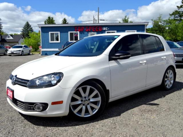 2011 Volkswagen Golf Highline TDI DSG Leather Sunroof Bluetooth Certified