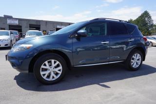 Used 2012 Nissan Murano SL AWD CERTIFIED 2YR WARRANTY *1 OWNER*NO ACCIDENT* 22 DEALER SERVICE RECORDS* CAMERA for sale in Milton, ON