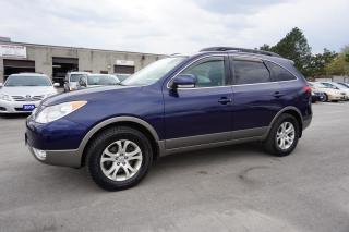 Used 2011 Hyundai Veracruz GLS PREMIUM PKGE AUTO *7 PASSENGERS*1 OWNER*NO ACCIDENT*31 HYUNDAI SERVICE RECORDS* for sale in Milton, ON