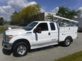 Used 2015 Ford F-350 SD SuperCab 4WD Service truck for sale in Burnaby, BC