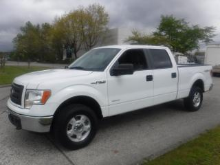 Used 2013 Ford F-150 3.5L EcoBoost V6 XLT SuperCrew 5.5-ft. Bed 4WD for sale in Burnaby, BC