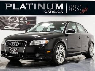 Used 2008 Audi A4 3.2 QUATTRO, S-LINE, Heated LTHR, Bose Audio for sale in Toronto, ON