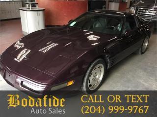 Used 1994 Chevrolet Corvette for sale in Headingley, MB