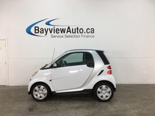 Used 2015 Smart fortwo Pure - ONLY 3300KMS! HEATED LEATHER! NAV! + MORE! for sale in Belleville, ON