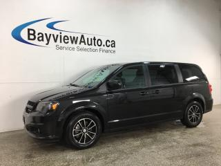 Used 2019 Dodge Grand Caravan GT - 3 ZONE A/C! STOW 'N GO! HTD LTHR! PWR DOORS! + MORE! for sale in Belleville, ON