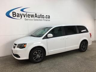 Used 2019 Dodge Grand Caravan GT - 3 ZONE A/C! HTD LEATHER! PWR DOORS & LIFTGATE! for sale in Belleville, ON