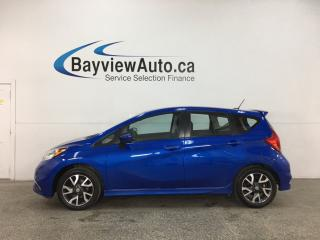 Used 2015 Nissan Versa Note 1.6 SR - AUTO! A/C! PINSTRIPE SEATS! ALLOYS! SHARP! for sale in Belleville, ON