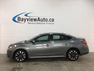 Used 2017 Nissan Sentra 1.6 SR Turbo - NAV! HEATED LEATHER! REVERSE CAM! ALLOYS! + MORE! for sale in Belleville, ON