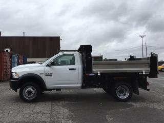 Used 2018 RAM 5500 Chassis ST/SLT - 6.4L HEMI! 4X4! DUMPING LANDSCAPE BOX! 400KMS! for sale in Belleville, ON