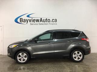Used 2016 Ford Escape - 4WD! 42,000KMS! SYNC! REVERSE CAM! KEYPAD! + MORE! for sale in Belleville, ON