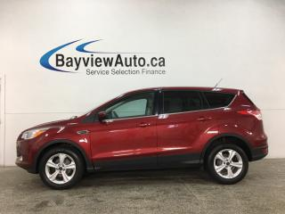 Used 2015 Ford Escape SE - ONLY 25,000KMS! PWR GROUP! REV CAM! SYNC! ALLOYS for sale in Belleville, ON