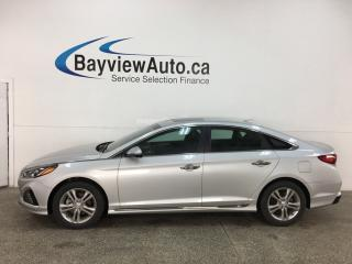 Used 2019 Hyundai Sonata ESSENTIAL - SPORT PKG! 9000KMS! HTD LEATHER TRIM SEATS! SUNROOF! PADDLE SHIFTERS! + MORE! for sale in Belleville, ON