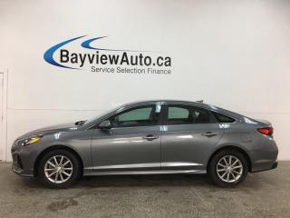 Used 2019 Hyundai Sonata ESSENTIAL - 16,000KMS! HEATED SEATS! BLUETOOTH! REVERSE CAM! ALLOYS! + MORE! for sale in Belleville, ON