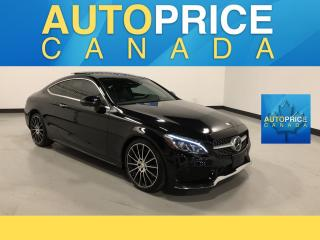 Used 2017 Mercedes-Benz C-Class SPORT PKG|NAVIGATION|PANROOF for sale in Mississauga, ON
