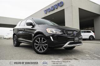 Used 2017 Volvo XC60 T5 AWD SE Premier CERTIFIED PRE-OWNED | ACCIDENT FREE | NAVIGATION | LEATHER | SUNROOF for sale in Vancouver, BC