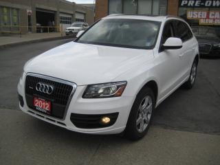Used 2012 Audi Q5 2.0T Premium (Tiptronic) Panoramic Sunroof for sale in North York, ON
