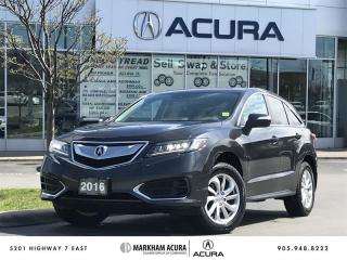 Used 2016 Acura RDX Tech at AWD, Navi, Power Liftgate for sale in Markham, ON
